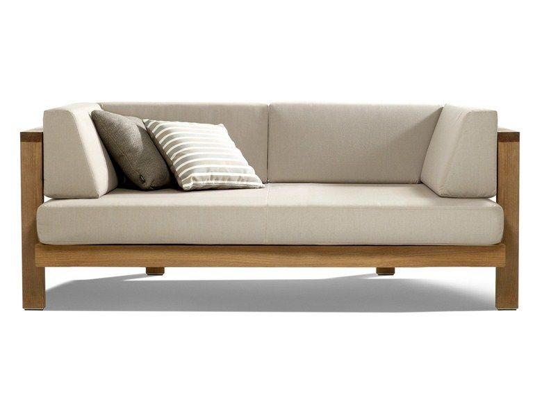 3 seater fabric garden sofa pure sofa collectiontribÙ | design