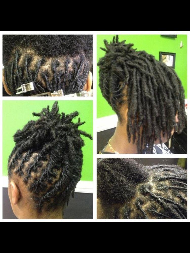 pin chrysalis loc's coiffure
