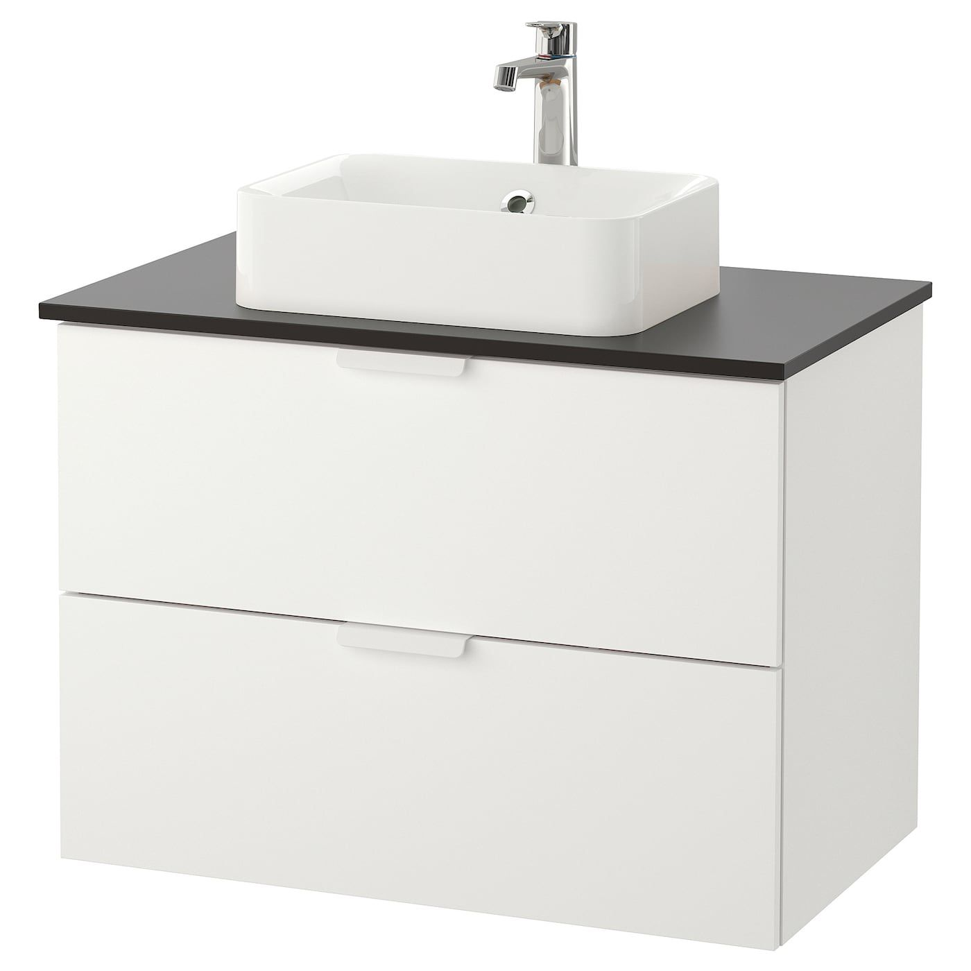 / HÖRVIK Bathroom vanity white