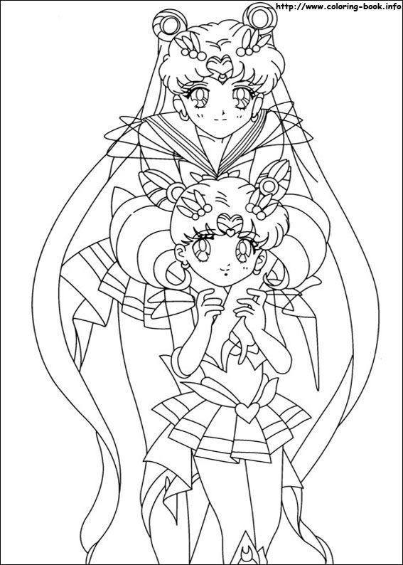 Sailor Moon coloring picture   Sailor Moon Coloring   Pinterest   Pintar