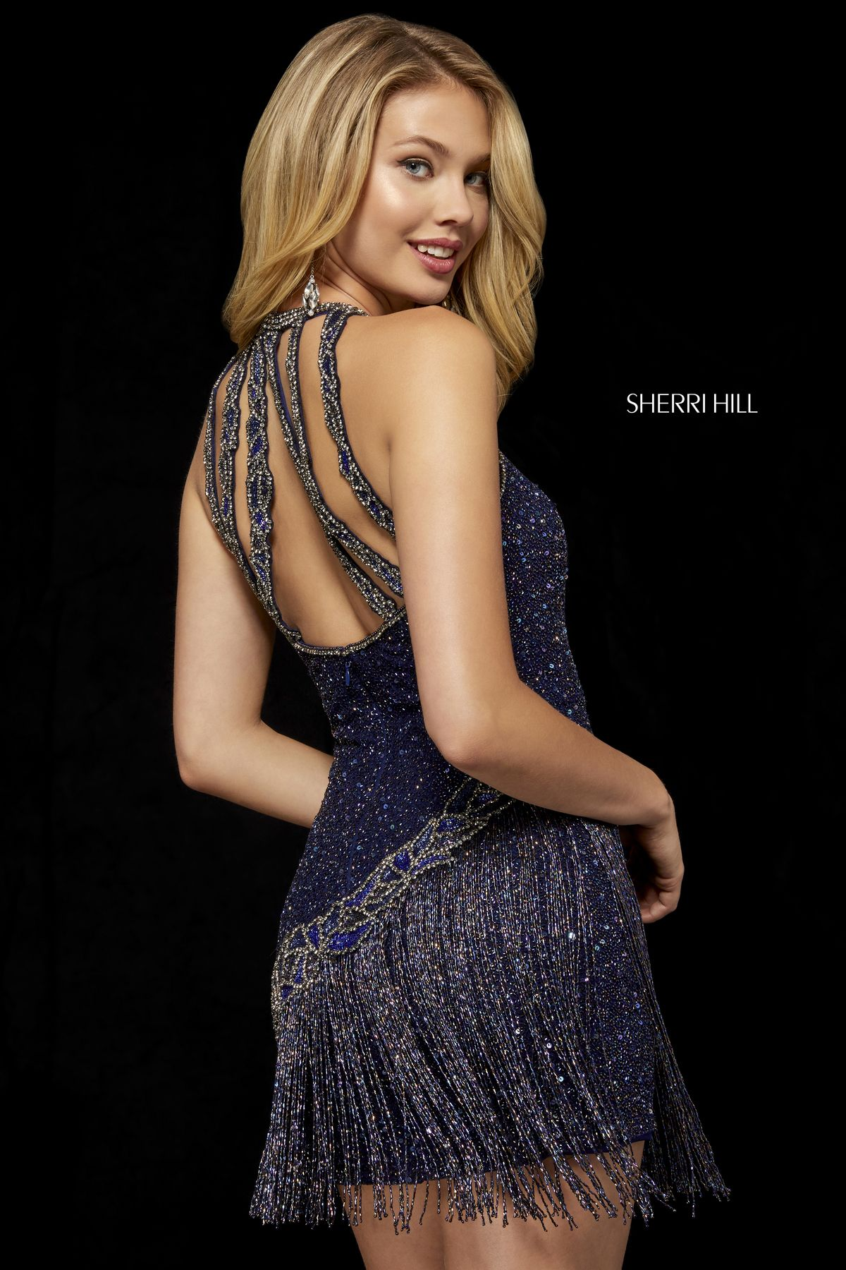 b18e9d7ee867 Style #52131 – Sherri Hill | Fall 2018 Collection in 2019 | Prom ...