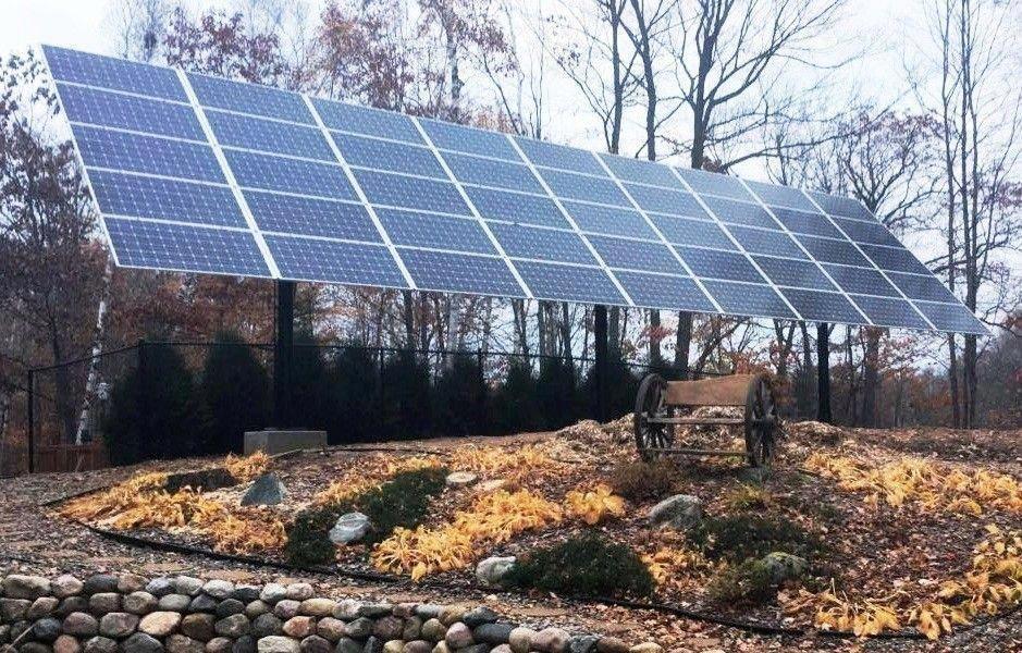 MT Solar Multi Pole Mount 72 Cell Solar Biz solarpanels