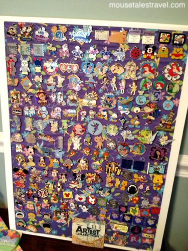 Pin bulletin board - learn more about pin collecting with ...