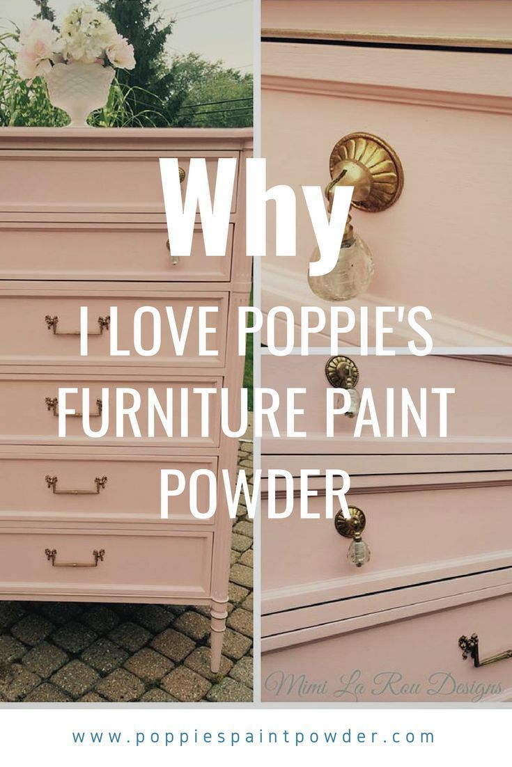 When I share with potential customers about our new product, Poppies Famous Repurposing Paint Powder, I have to frequently answer the question  Why should I use Poppies instead of a chalk paint I could purchase already mixed and ready to go?