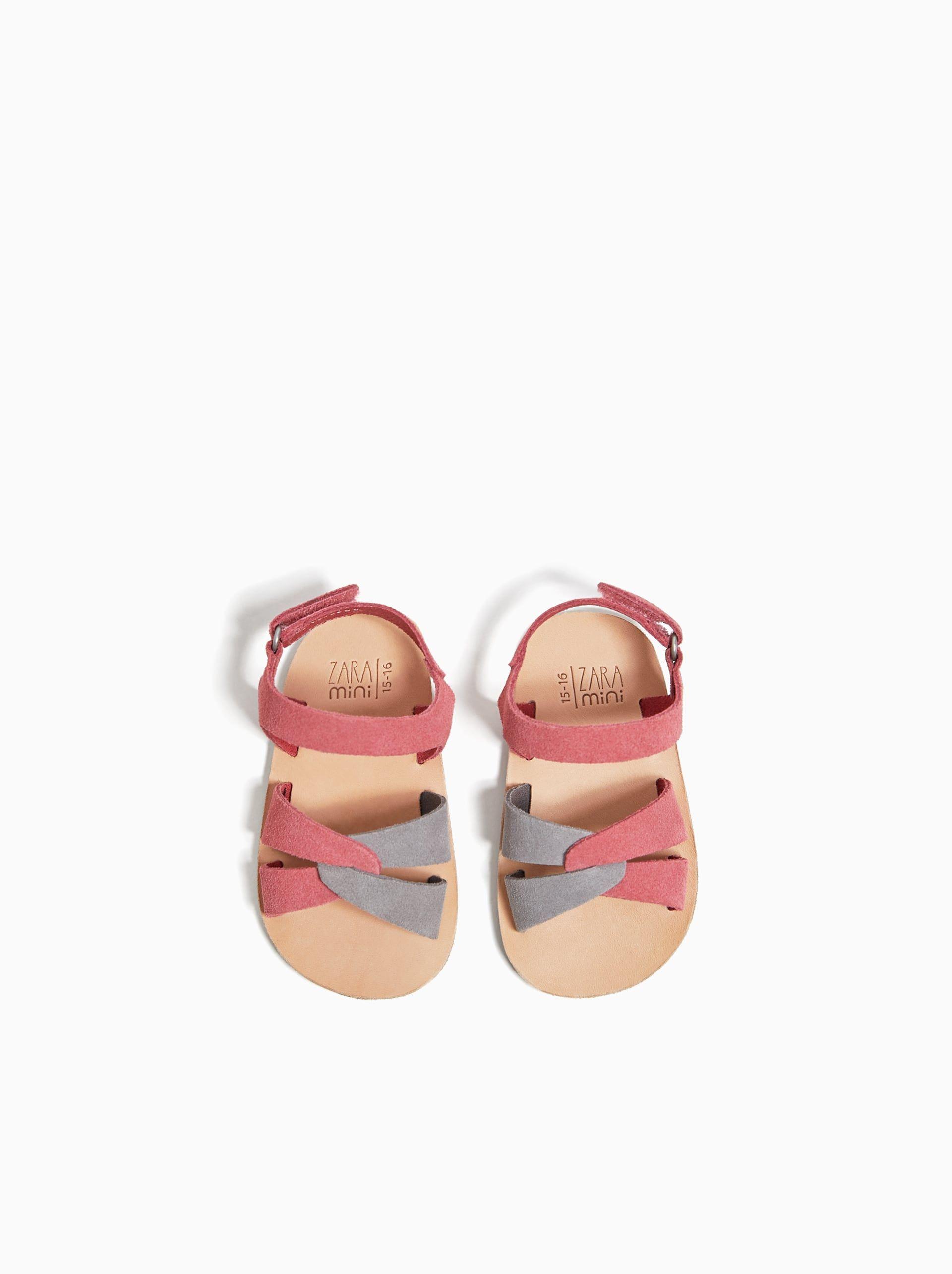 Sandalia Piel última Semana Mini 0 12 Meses Niños Zara España Baby Girl Sandals Cute Baby Shoes Kid Shoes