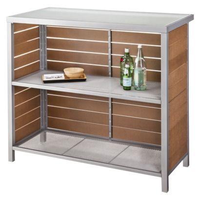 Threshold™ Bryant Faux Wood Patio Bar Furniture Set Http://www.target