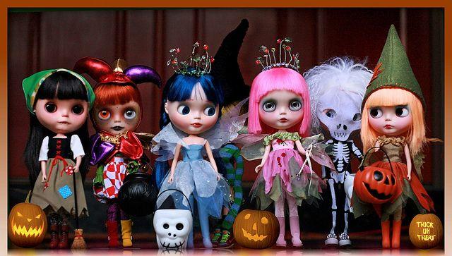 Blythe Halloween - love this <3