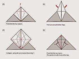 Tutorial para hacer Murciélagos con Origami. (con immagini)