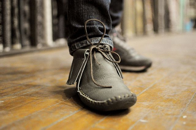 Lalu S Moccasin Moccasins Work Boots Leather Moccasins