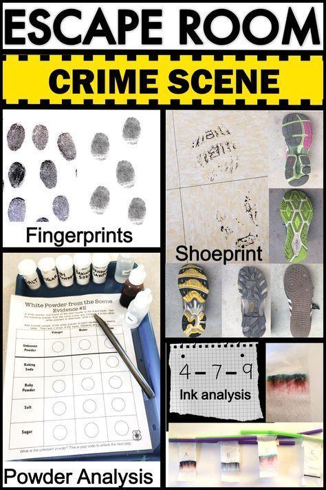 CSI Forensics Fluchtraum – ESCAPE ROOMS – #CSI #Escape #Fluchtraum #Forensics …
