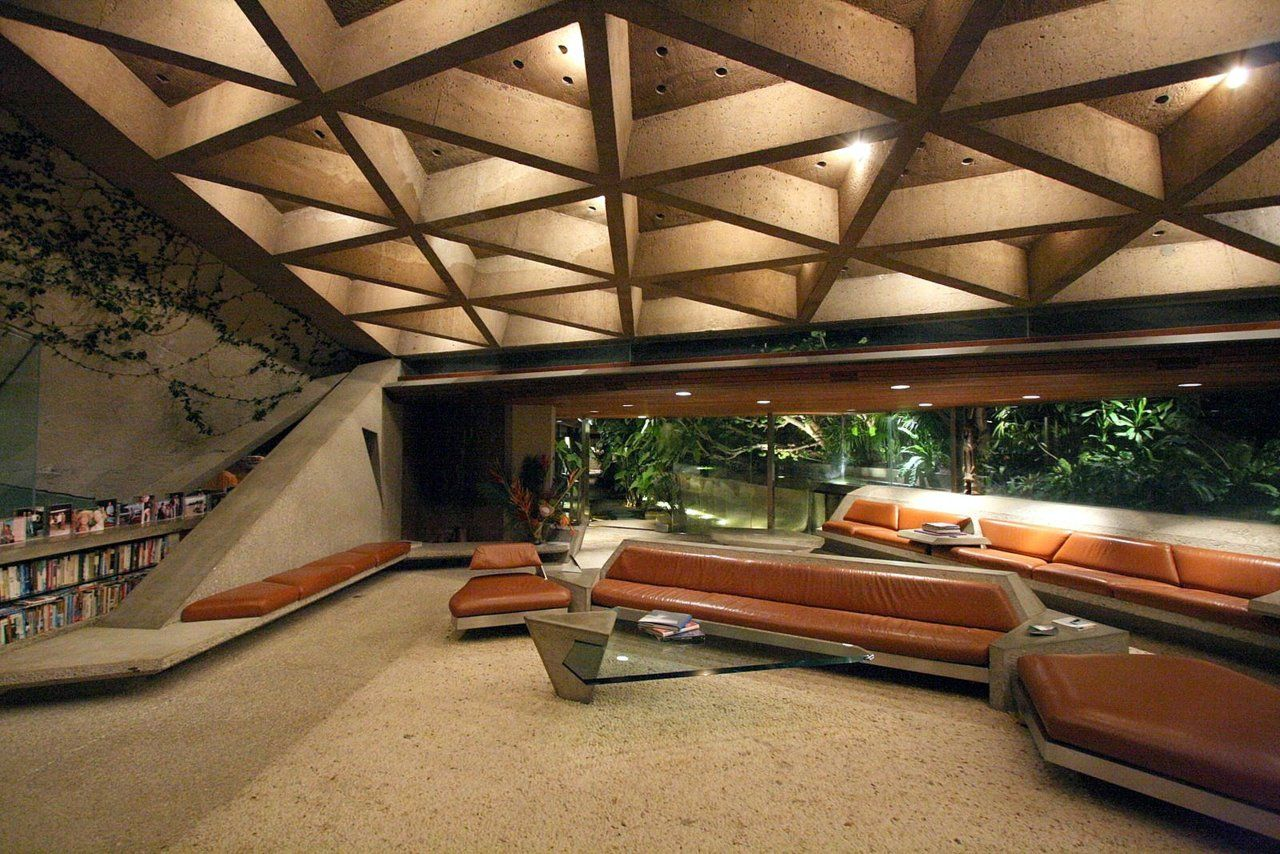 John Lautner The Sheats Goldstein House In Los Angeles Otherwise