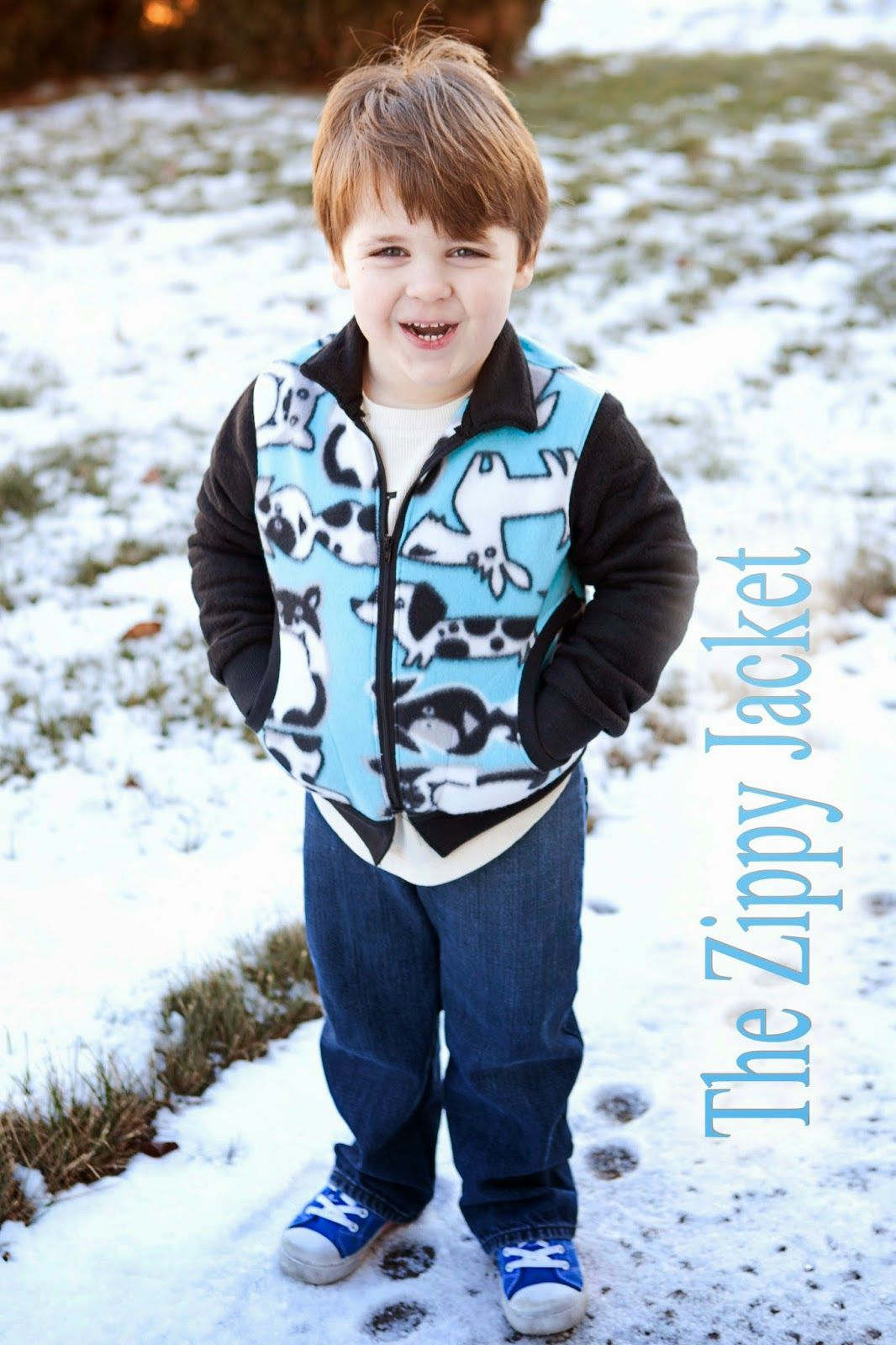 Zippy Jacket with Pattern Revolution - Blank Slate Sewing Team | Nähen