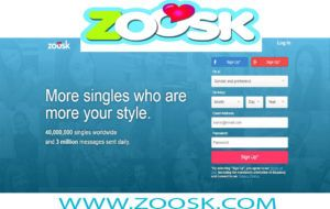 zoosk dating log in