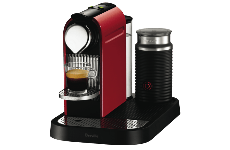 Nespresso BEC600MR Breville Citiz and Milk Capsule Machine
