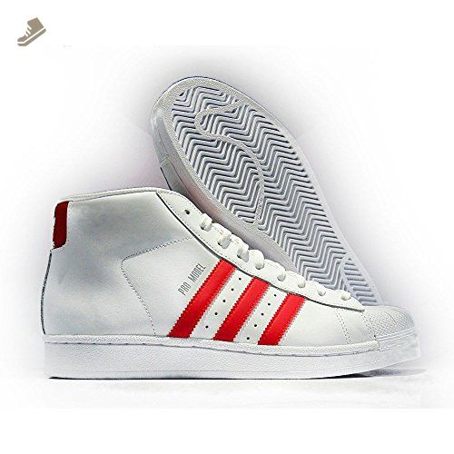Adidas - Pro Model - S75928 - Color: Red-White - Size: 5.5