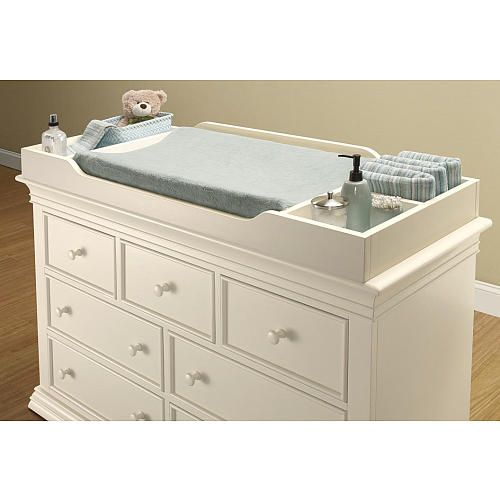 sorelle verona changing topper french white stains babies r us and changing table topper. Black Bedroom Furniture Sets. Home Design Ideas