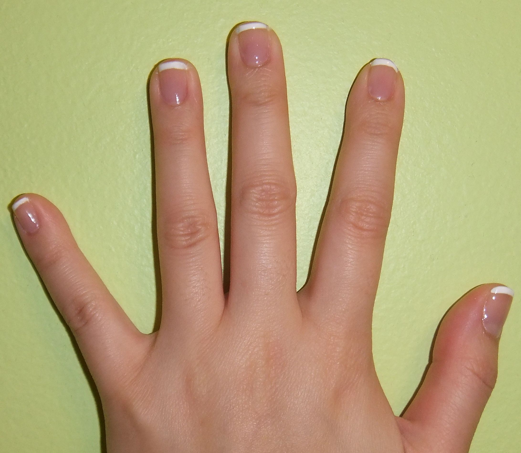 how to do french manicure on short nails with images   Manicure ...