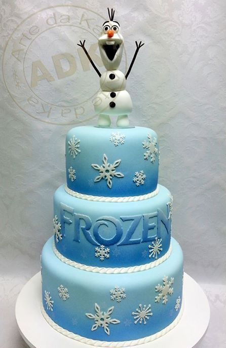 Excellent Disneys Frozen Olaf Cake With Images Frozen Birthday Cake Personalised Birthday Cards Sponlily Jamesorg