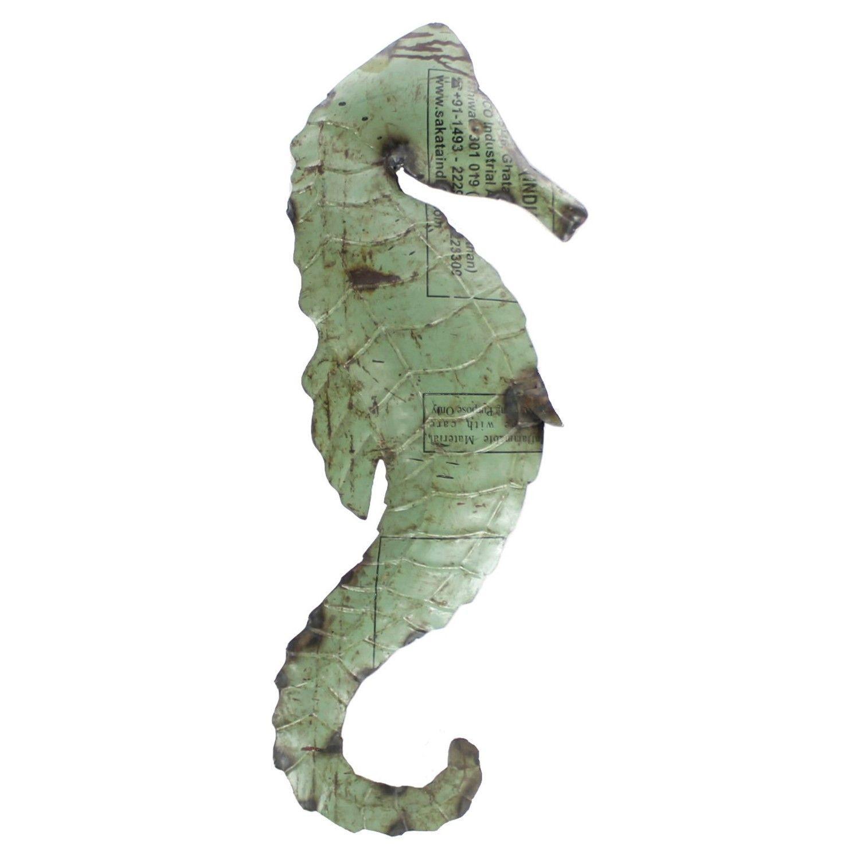 Custom Metal Seahorse Wall Art Teal By Schrockmetalfx On Etsy Seahorse Wall Art Seahorse Art Seahorse