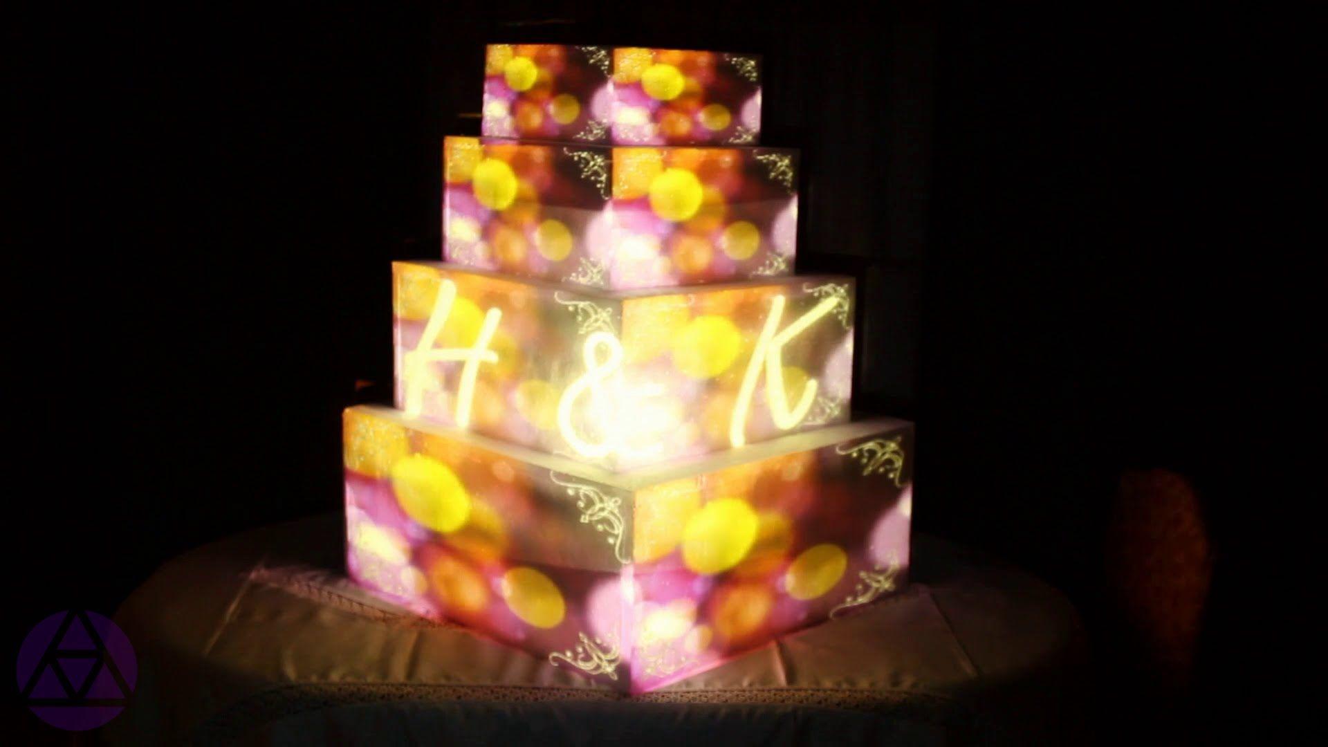 Wedding cake 3D mapping | Cake Mapping | Pinterest | Wedding cake ...