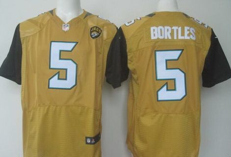 info for 32f16 55419 Jacksonville Jaguars #5 Blake Bortles Nike Gold Color Rush ...