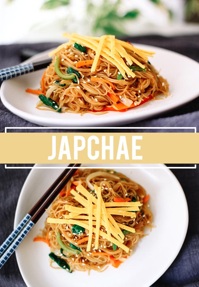 Japchae Korean Stir Fry Noodles Korean Recipes Korean Stir Fry Stir Fry Noodles Korean Food