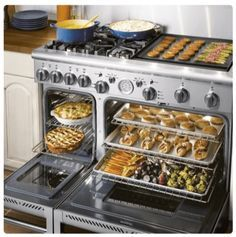 GSCR486GN by Capital - Natural Gas Ranges | Goedekers.com #dreamhome