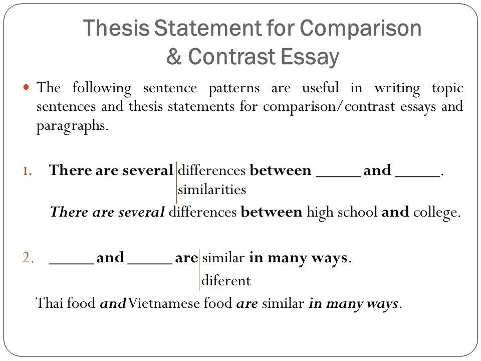 Comparison Contrast Essay Ppt Download In 2021 Essay College Essay Topics College Essay Examples