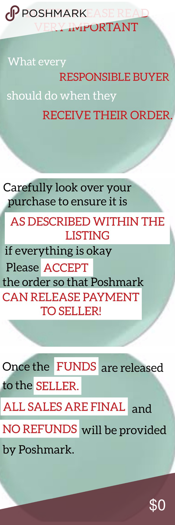 🙂Tutorial 🙂 Accept Order/Open a Case  Many (new) Poshers