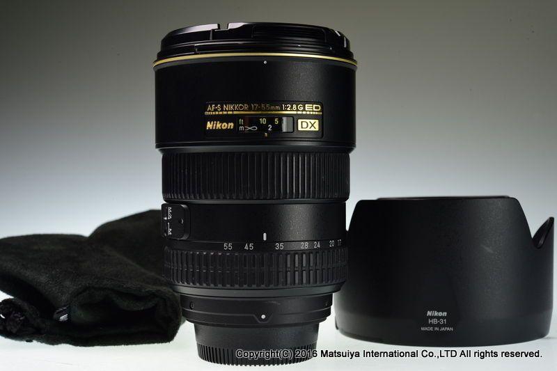 Nikon Af S Dx Nikkor Ed 17 55mm F 2 8g Swm If Excellent Nikon Excellence Niko And