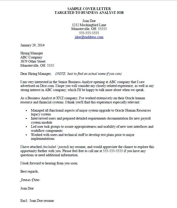 sample job application letter doc cover templates format for ...
