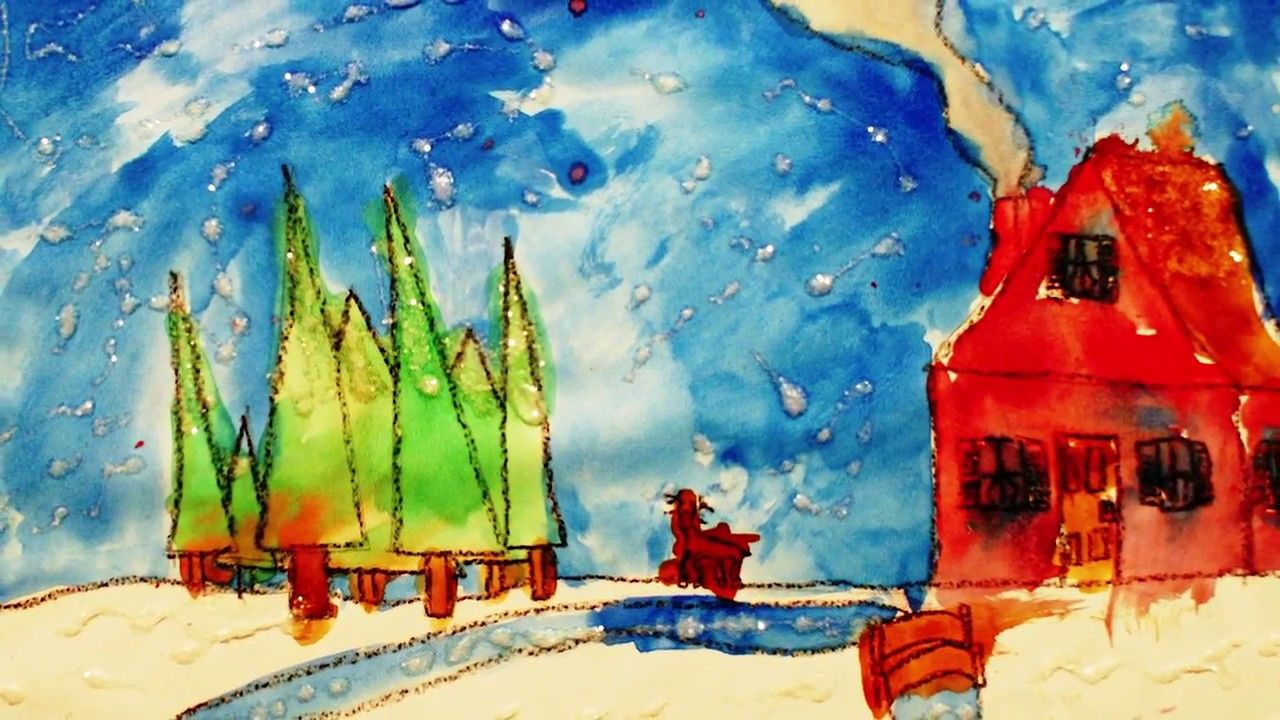 Happy Holidays video featuring the artwork and music of the children of YCS.
