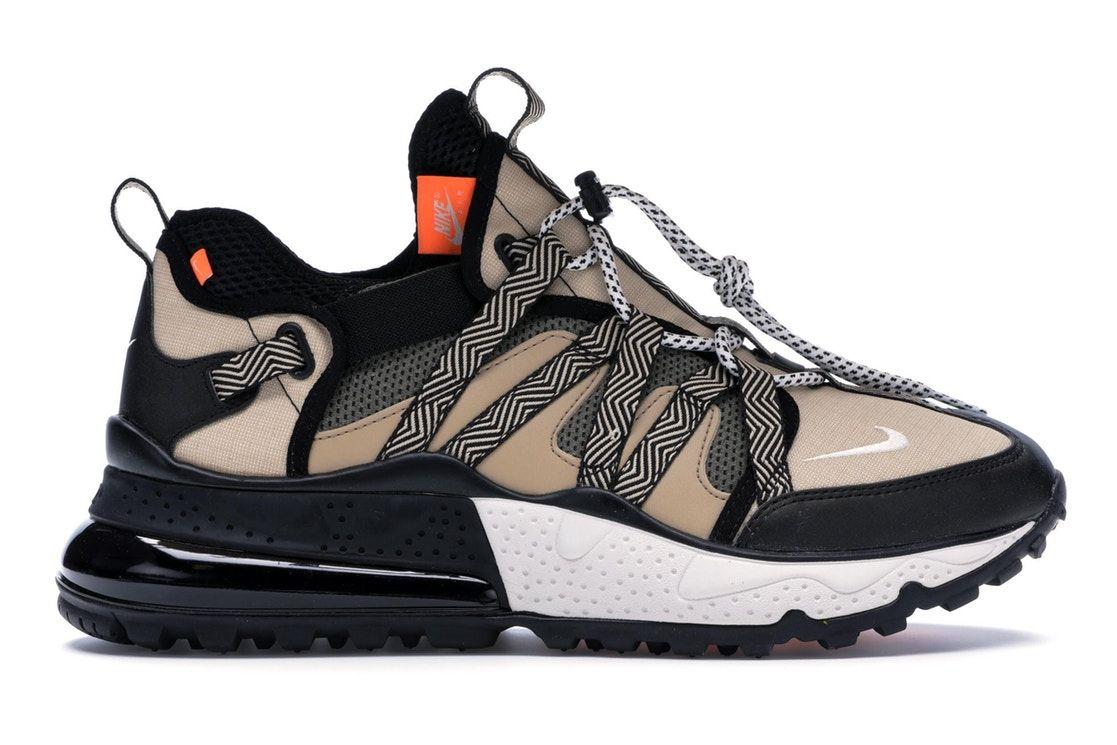 Cerdito cruzar comercio  Nike Air Max 270 Bowfin Black Desert in 2020 | Sneakers fashion, Hype shoes,  Desert shoes