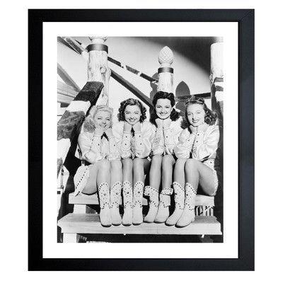 "Latitude Run Lovely Dolls Framed Photographic Print Size: 20"" H x 16"" W"