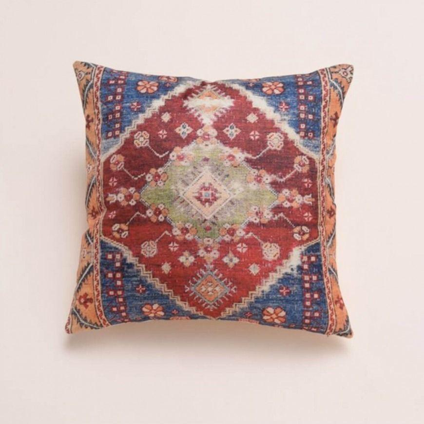 غطاء خدادية مزخرف متعددة الألوان Home Accessories Throw Pillows Pillows