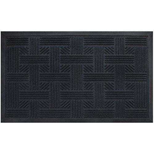 Front Door Mat Welcome Doormat Rubber Entrance Floor Shoes Rug Outdoor Home