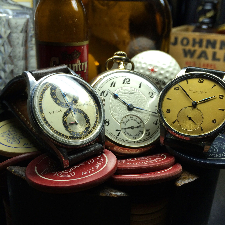 Vintage watches!