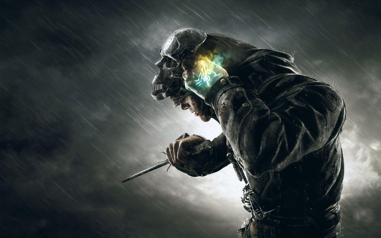 Desktophdwallpaper Org Dishonored Hd Wallpaper 4k Dishonored Mask