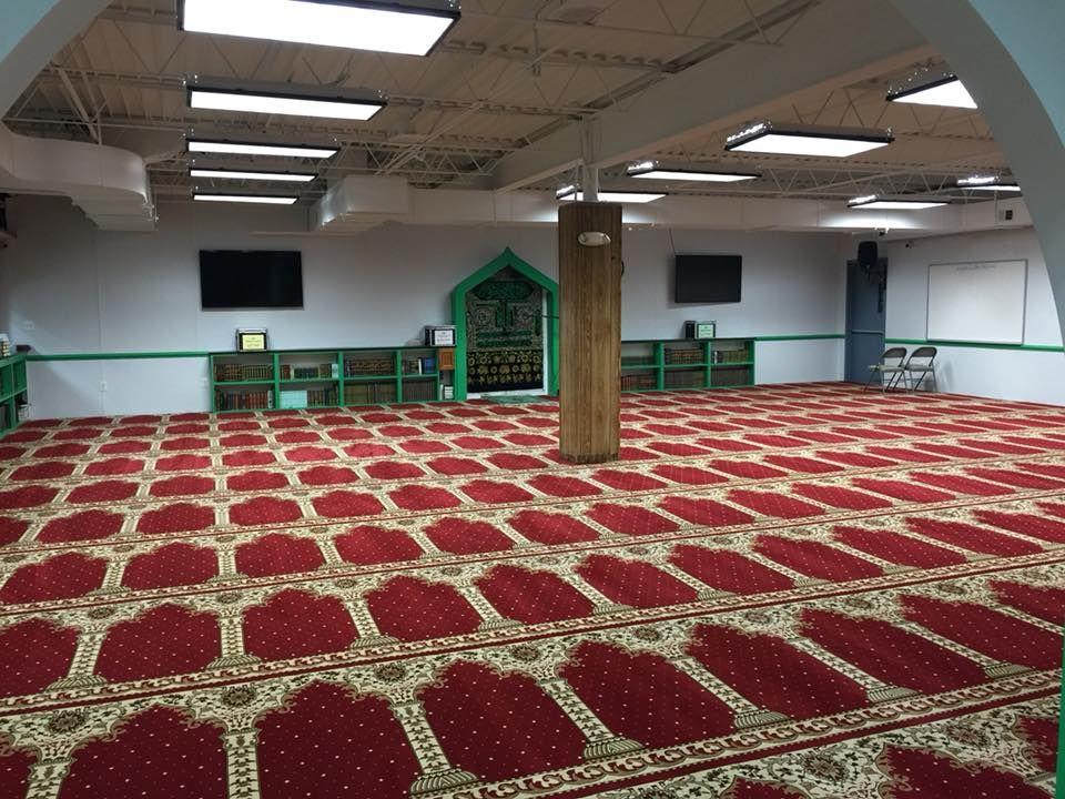 Prince William Islamic Center has a new masjid carpet c72d4e4b45