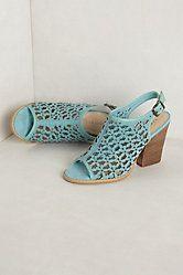 Daisy Cutwork Heels