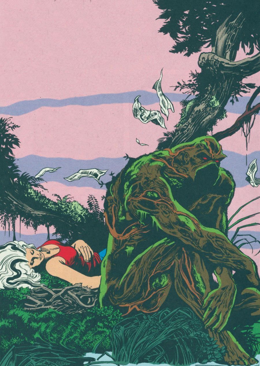 SAGA OF THE SWAMP THING John Totleben, Abby #swampthing SAGA OF THE SWAMP THING John Totleben, Abby #swampthing