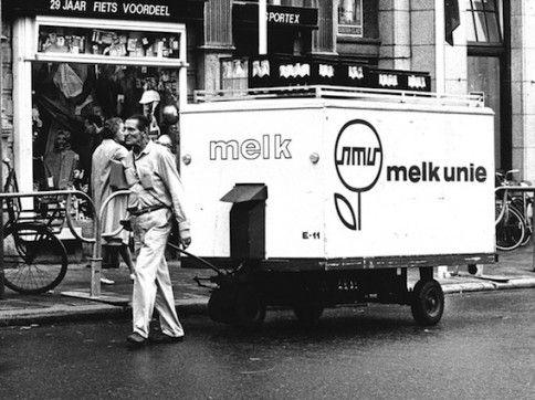 De melkman van de Melk Unie - bewri