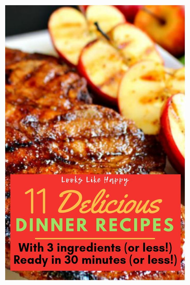11 Delicious 3 Ingredient Dinners Ready in 30 Minutes or Less images