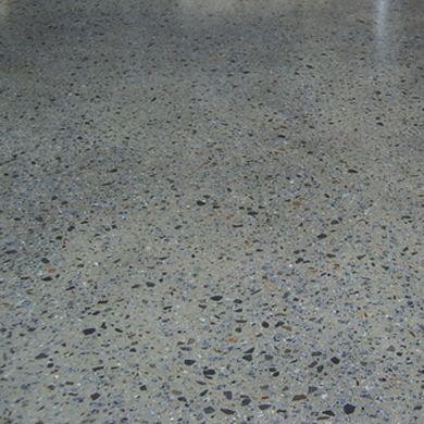 Exposed aggregate concrete floor policrete floors for Exposed concrete floor