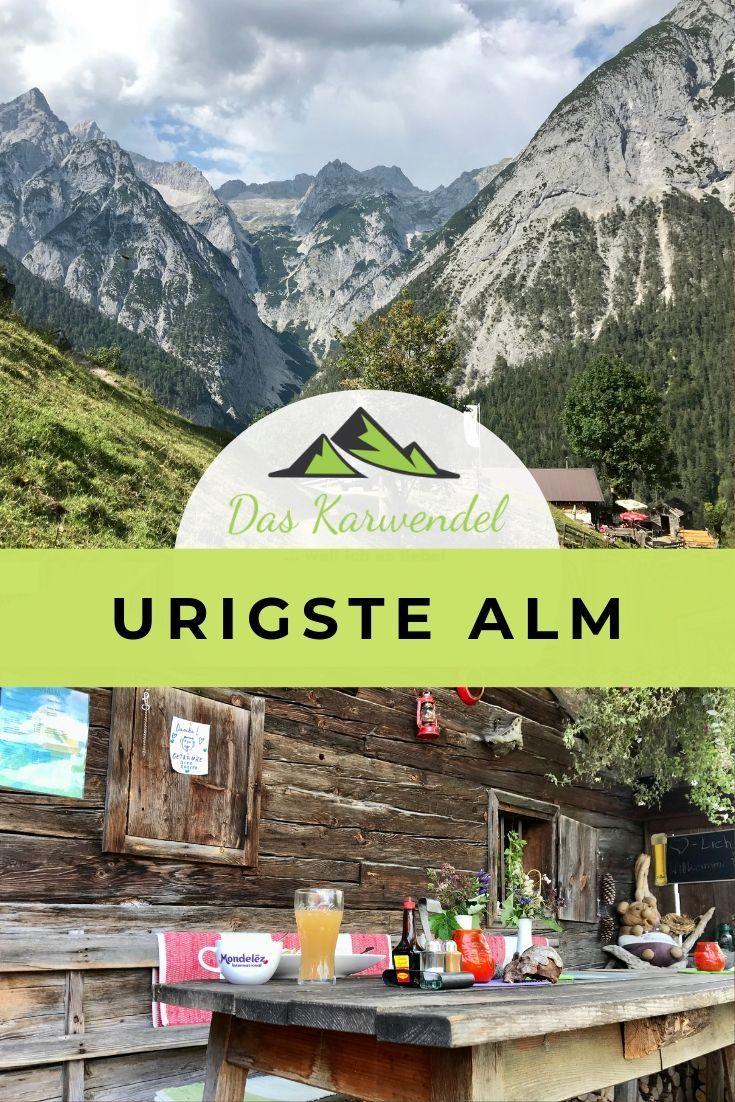 Urigste Alm im Karwendel