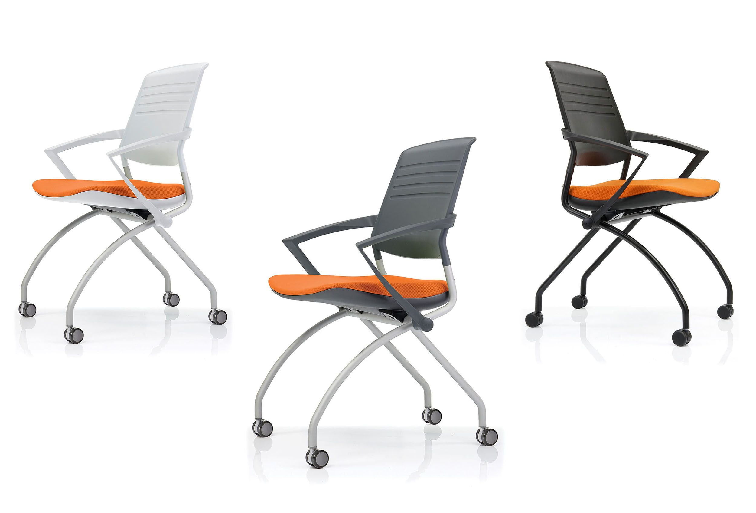 Muzo Switch chairs Folding and nesting portable chairs with ATB