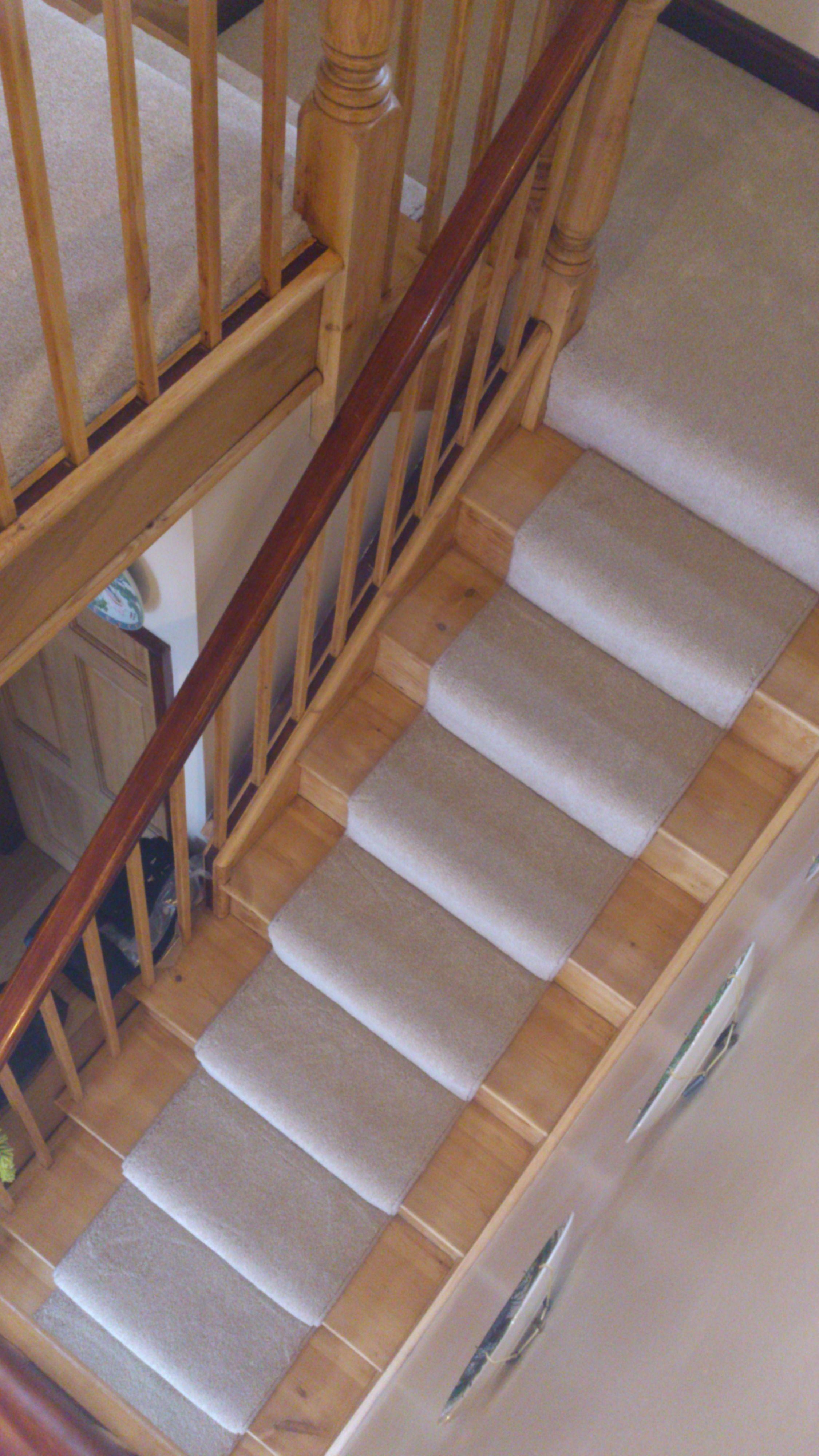 Saxony Carpet Runner On Oak Staircase