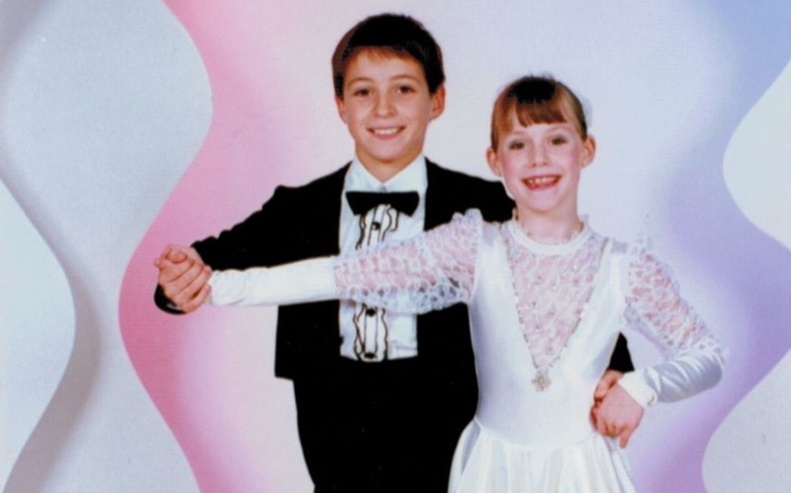 Too Cute! Childhood Photos of Tessa & Scott #wnetwork | Tessa