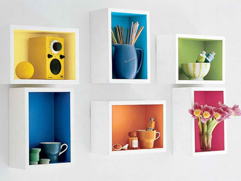 Ikea Wall Shelves Ideas A Starting Point For Your Diy Project With Inside Color