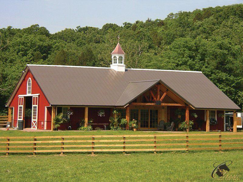 Pole Barn Homes 19 | Shop houses | Pinterest